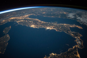 Uzaydan Dünyaya Bakış - İtalya