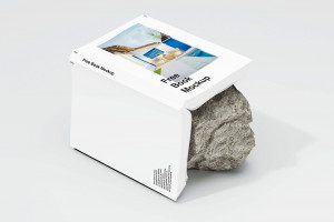 Ücretsiz PSD Kitap Mockup