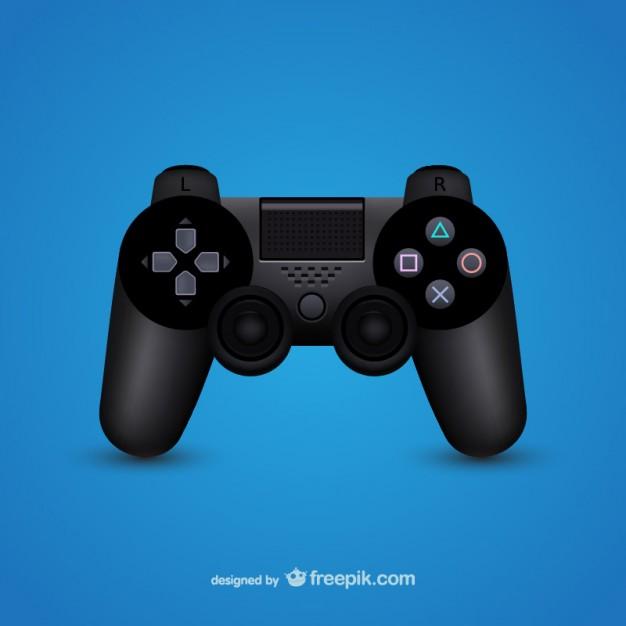 Vektörel Playstation Kumandası
