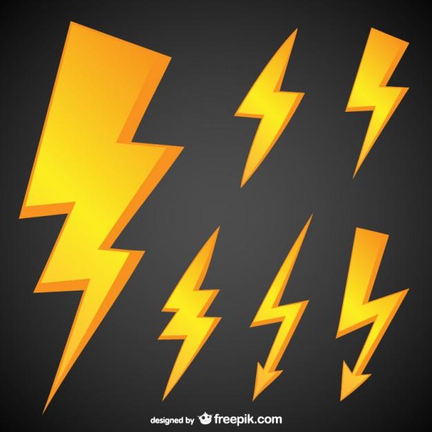 Vektörel Elektrik İkon Tasarımı
