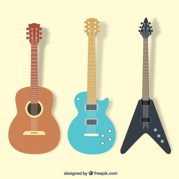 Vektörel Gitar Koleksiyonu