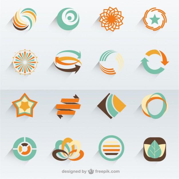 Vektörel Eko Logo Tasarımları