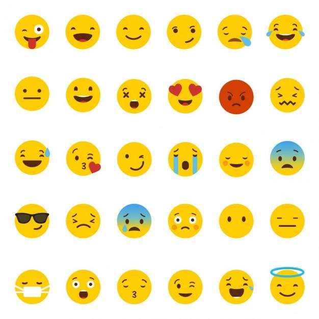 Vektörel Whatsapp Emojileri