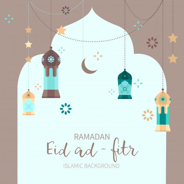 Vektörel Ramazan Ayı Dekoratif Arkaplan