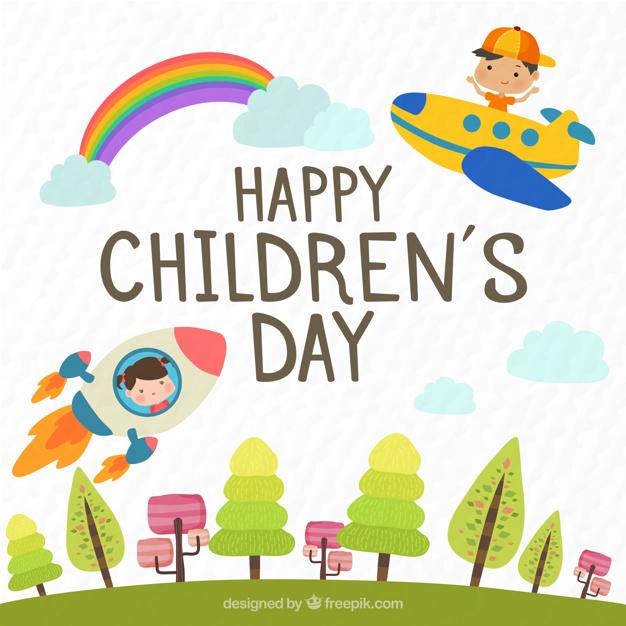 Vektörel Çocuk Bayramı
