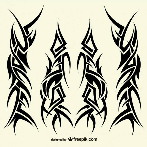 Vektörel Kabile Dövme Tasarımları