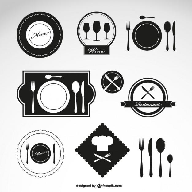 Vektörel Restoran Logoları