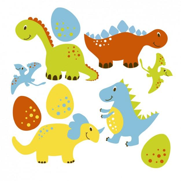 Vektörel Dinozor Kolleksiyonu