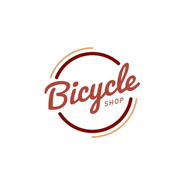 Vektörel Bisikletçi Logo