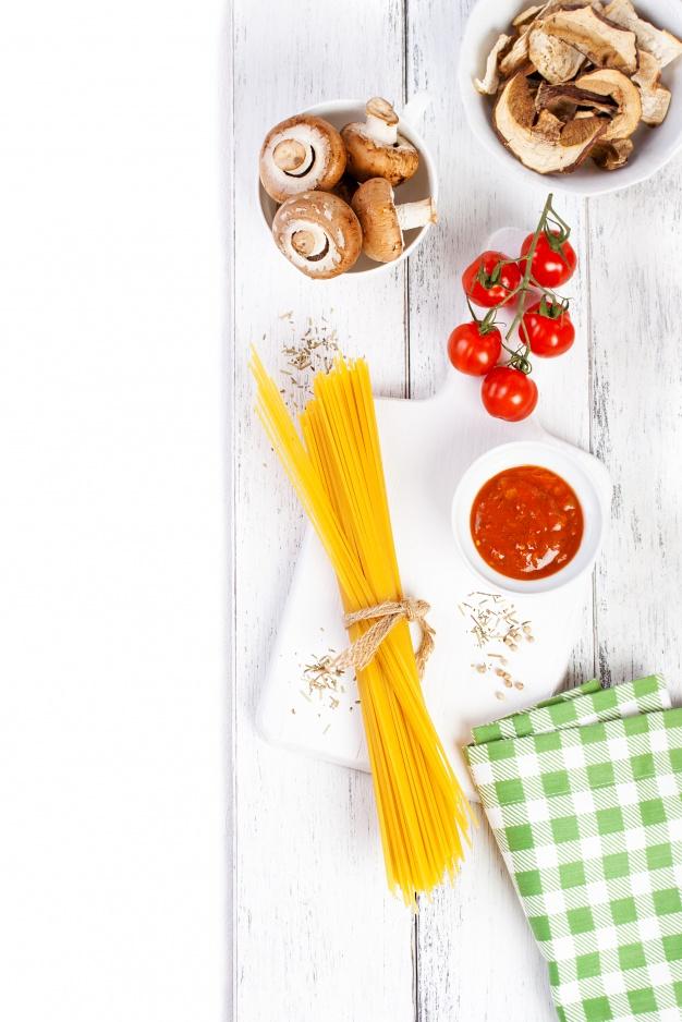 İtalyan Spagetti ve Mantar