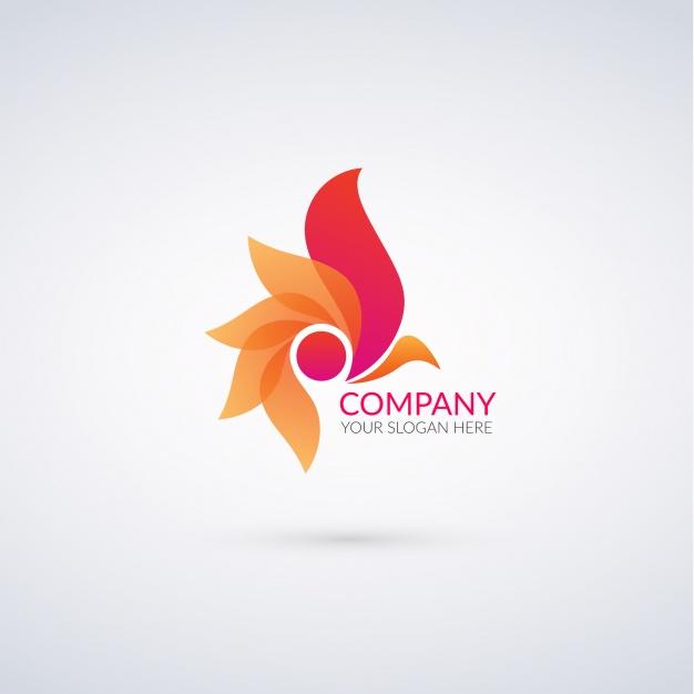 Vektörel Abstract Logo Tasarımı