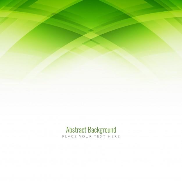 Vektörel Abstract Yeşil Arka Plan