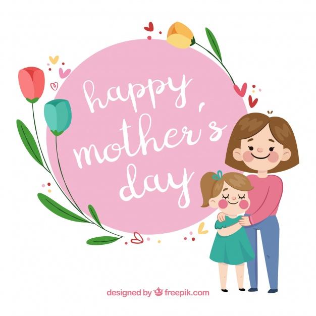 Vektörel Anneler Günü Kutlama Arka Plan