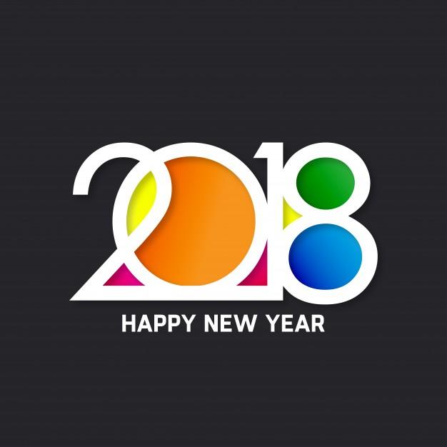 Vektörel Renkli 2018 Logo