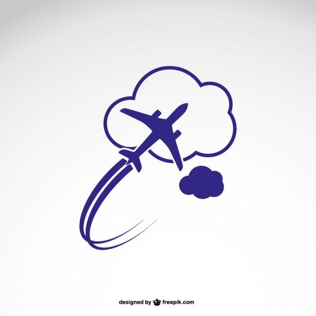 Vektörel Hava Yolu Logo