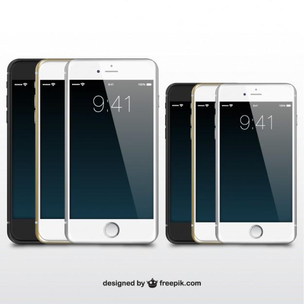 Vektörel iPhone Telefonlar