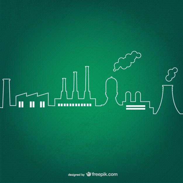 Vektörel Endüstriyel Çizimleri