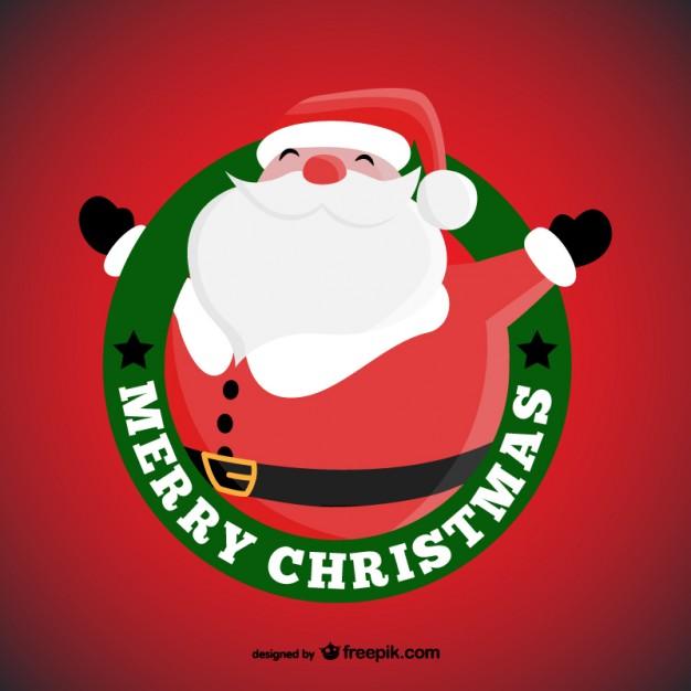 Vektörel 9 Tane Noel Baba Çizimi