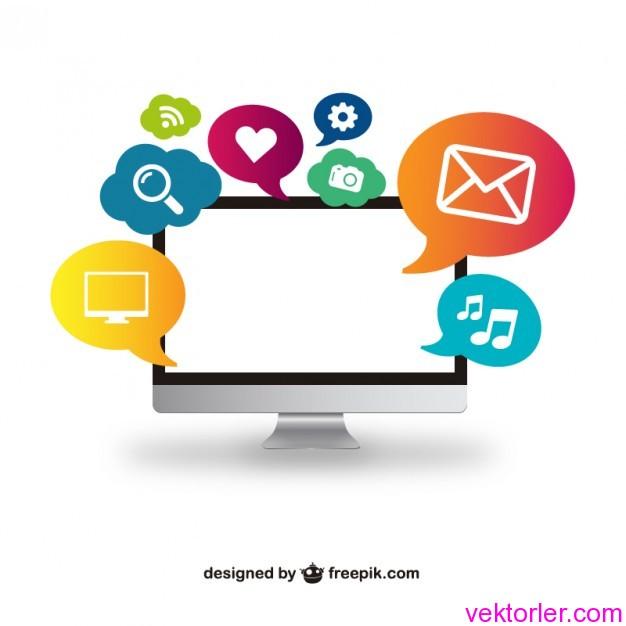 Vektörel Bilgisayar ve Online Sohbet