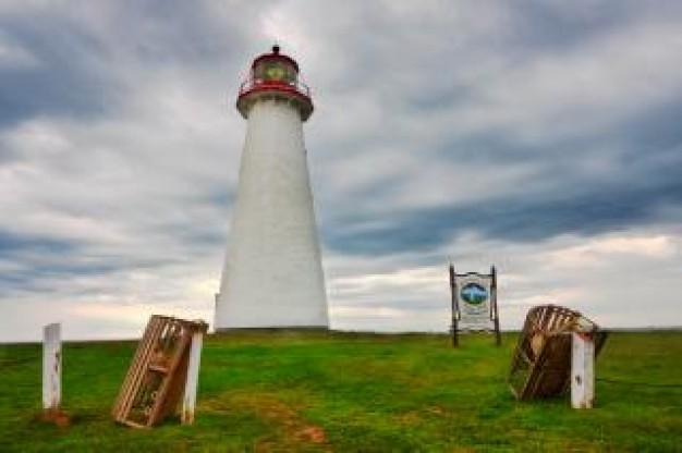 HDR Deniz Feneri Fotoğrafı