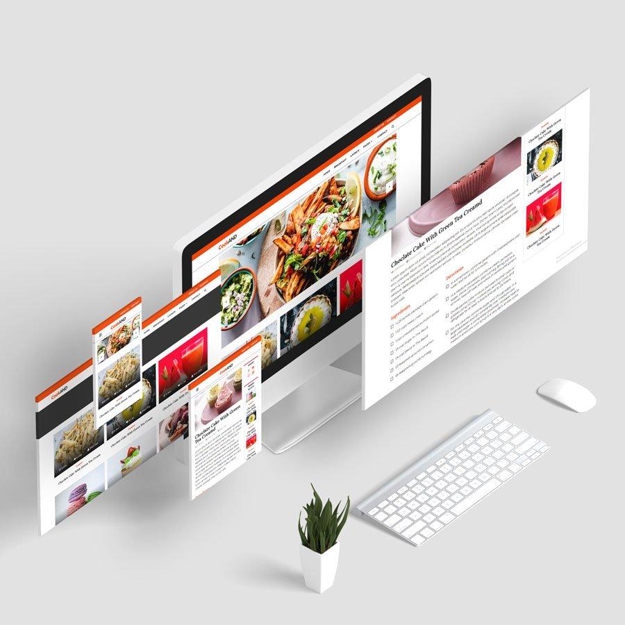 HTML Yemek Tarifi teması