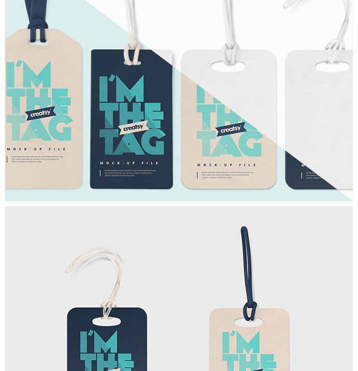 Ürün Etiketi Mockup Tasarımı