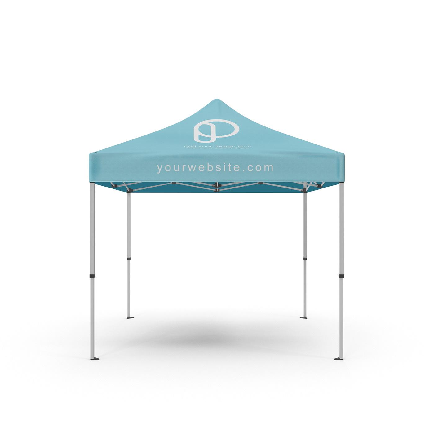 PSD Etkinlik Çadırı Mockup