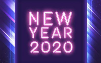 vektorel-2020-neon-yazi