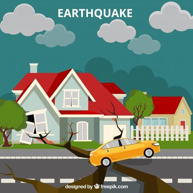 Vektörel Deprem ve Çökmüş Yol