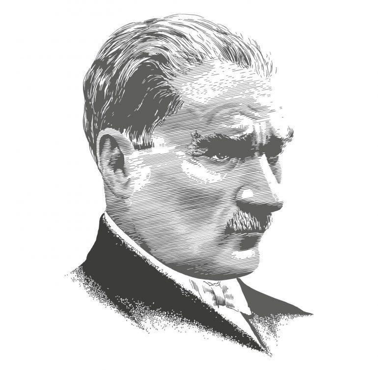 vektorel-mustafa-kemal-ataturk-siluet