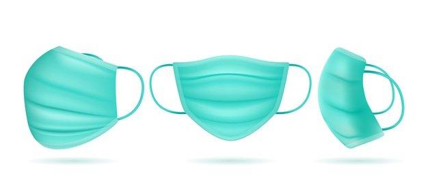 Vektörel Tıbbi Maske Çizimi