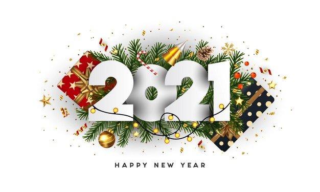 Vektörel 2021 Süsleme Logo